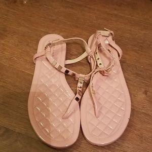 Cole Haan pink sandals